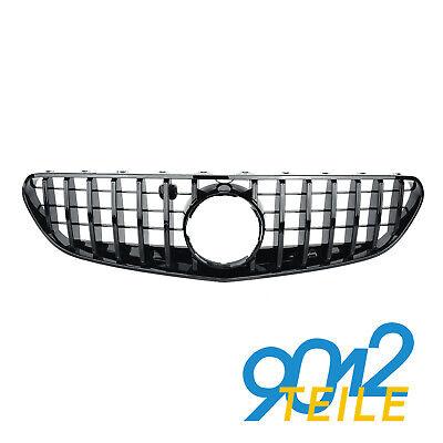 für Mercedes Benz S Klasse Cabrio W217 C217 A217 SCHWARZ GT Grill 15-17