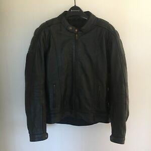 Dririder Leather Motorcycle Jacket Men's M (40)