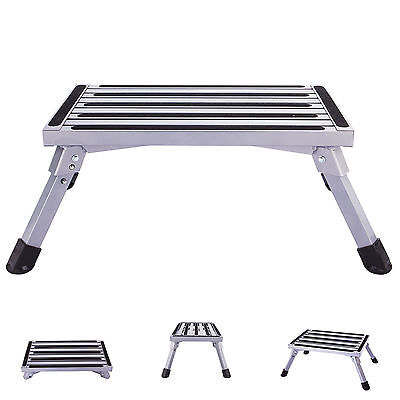 Multi Purpose Aluminum Ladder Folding Step Stool Heavy Duty Portable Diy Tool