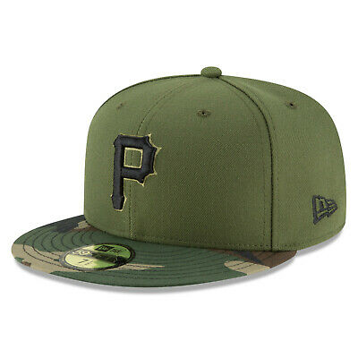 Pittsburgh Pirates New Era Alternate Camo Authentic On-Field 59FIFTY Fitted Hat](Authentic Pirate Hats)