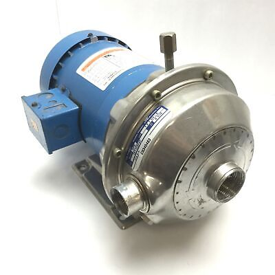 Gl Pumps Npe 1st1c1c5f4f Centrifugal Pump With Emerson R6131800 Motor 3-phase