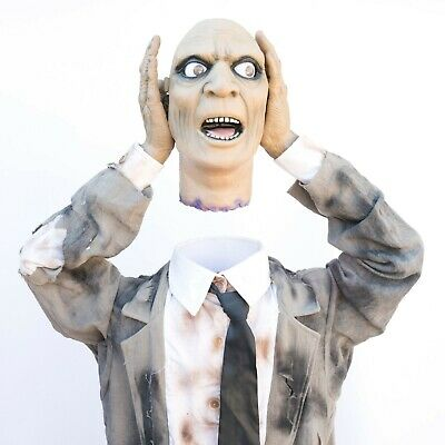 HEADS UP HARRY Full Size Animated Animatronic Halloween Prop Spirit Halloween