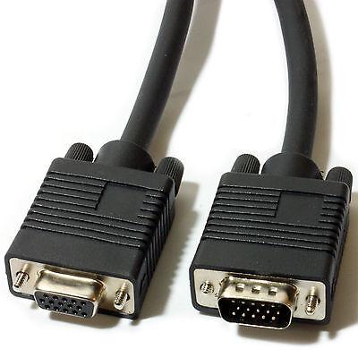 5m Macho a Hembra Extensión VGA Svga Cable Lead-Monitor