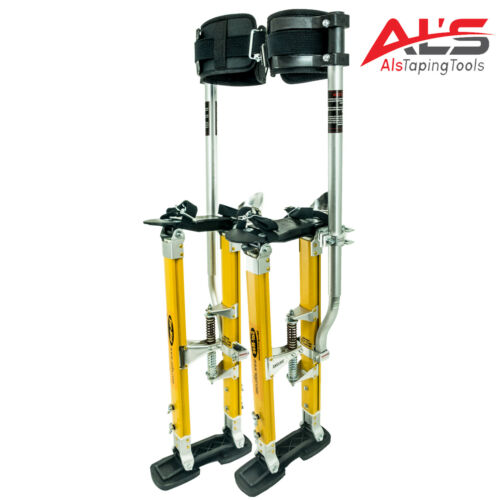 "Sur Pro Sur Mag Single Pole Magnesium Drywall Stilts 18-30"" - Medium"