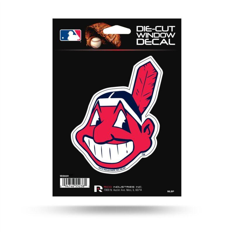 Cleveland Indians Sticker Emblem Decal Die-cut Logo Car Truck Decal Sticker Vdcm