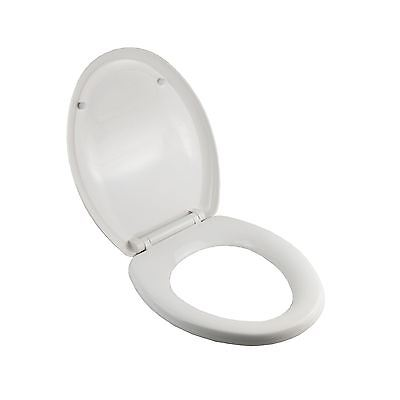 CAMI Luxury Oval Soft Close Heavy Duty Toilet Seat With Fixing