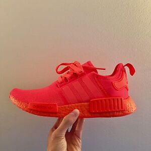 NMD red monochrome