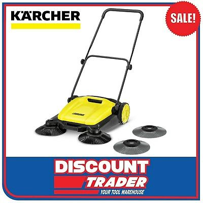 Karcher 2 in 1 Outdoor Push Sweeper with Wet Brush Set S 650 - 1.766-307.0
