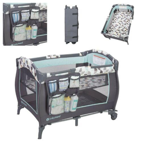folding travel baby crib-cradle Play Portable Playard/capacity 35LB Nursery Cent