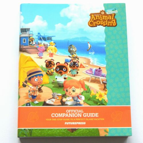 Animal Crossing: New Horizons Official Companion Guide Book Future Press NEW