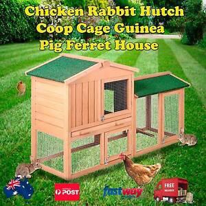 Chicken Rabbit Hutch Coop Cage Guinea Pig Ferret House Melbourne CBD Melbourne City Preview