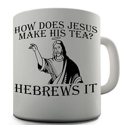 Jesus Tea Funny Design Novelty Gift Tea Coffee Office Mug (Novelty Mug)