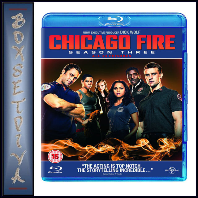 CHICAGO FIRE - COMPLETE SEASON 3 *BRAND NEW BLU-RAY***
