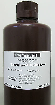 Lanthanum Nitrate Solution 99.9 Certified 1l