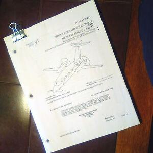 Piaggio-Aero-P-180-Avanti-Pilot-039-s-Operating-Handbook-amp-Airplane-Flight-Manual