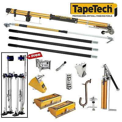 Tapetech Complete Set Of Drywall Taping And Finishing Tools - Free Stilts