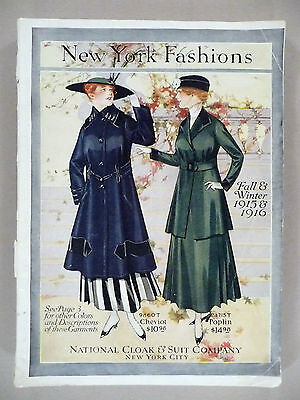National Cloak CATALOG - Fall/Winter, 1915-1916 -- New York Fashions -- 162 pgs