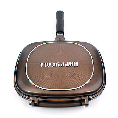 Genuine Happycall Jumbo Grill Double Sided Brown Silicon Seal Gasket Grill Pan