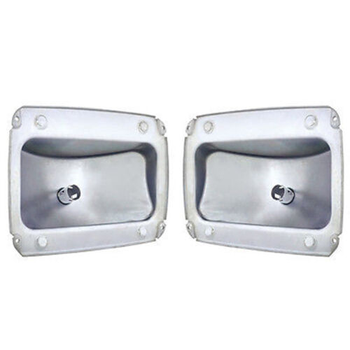 64 65 66 Ford Mustang Rear Tail Light Lamp Lens Socket Left Right Housings Pair