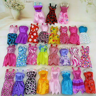 20 x Fashion Handmade Party Clothes Dress outfit for Barbie Doll Chirstmas Gift