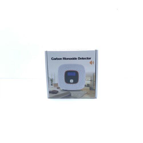 LCD CO Carbon Monoxide Poisoning Smoke Gas Sensor Warning Al
