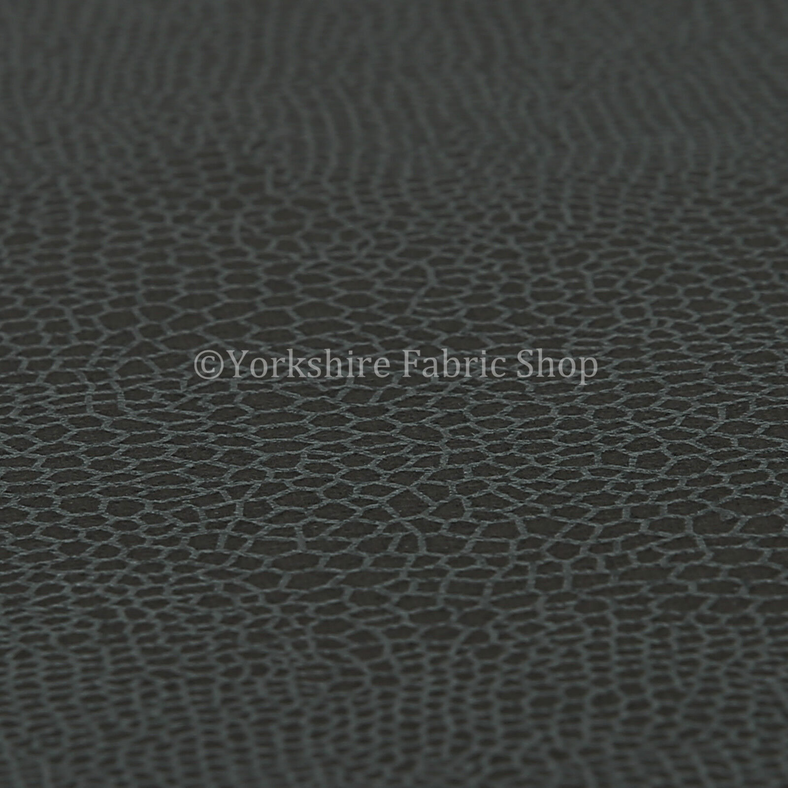 Grey Charcoal New Faux Leather Faux Suede Snake