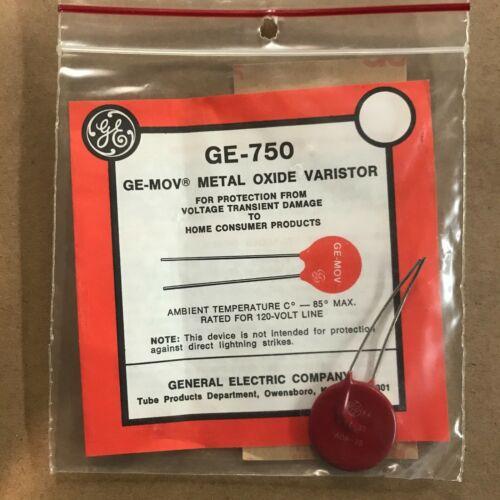 GENERAL ELECTRIC VARISTOR  GE-750 / GE750 (NEW IN BOX)