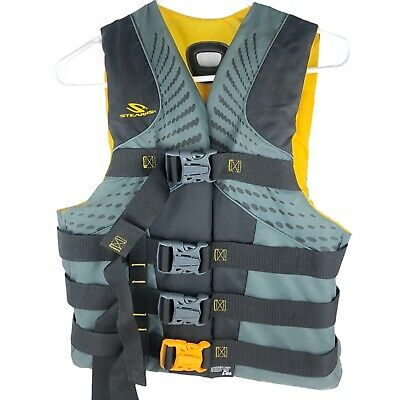 Type III PDF Cond. Pre-Owned Exc Adult Large Stearns Navy Blue Life Vest