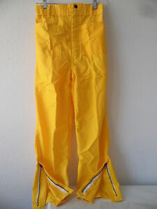 100% NOMEX FIREFIGHTER GEAR BRUSH FIRE WILDLAND PANTS NEW S / R