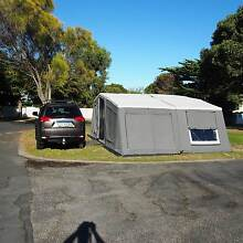 very comfortable and large camper trailer Gulfview Heights Salisbury Area Preview