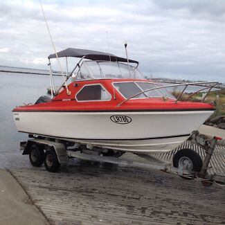Boat Caribbean crestcutter 5.3 mtr Altona Meadows Hobsons Bay Area Preview