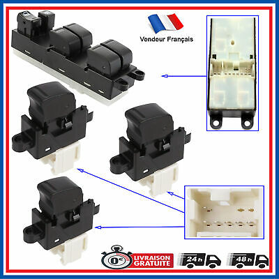 fits for Nissan Almera Tino WINDOW LIFTER SWITCH FRONT LEFT or REAR 254110V000