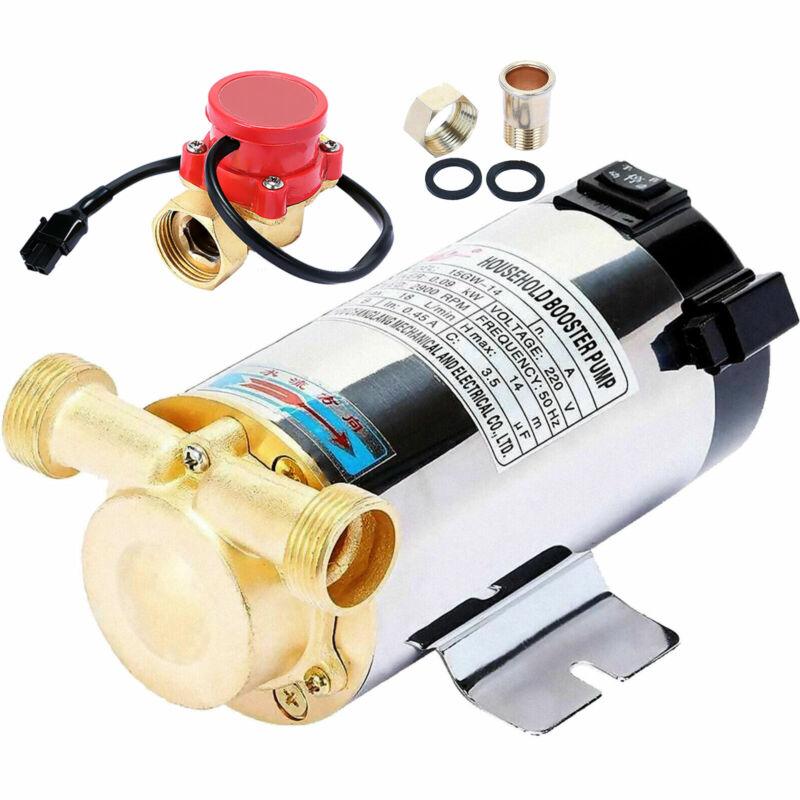Household Booster Pump 90W Boost Water Pressure Pump Shower 39.4ft Head