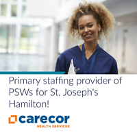 Personal Support Workers Wanted! - Hamilton