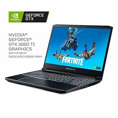 Acer PH315-52-78VL Predator Helios 300 15.6 in. GTX 1660TI 16GB RAM 256GB SSD