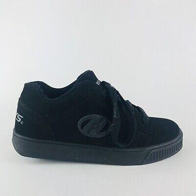 GREAT pair of black Heelys skate skating shoes - youth boys or girls 6