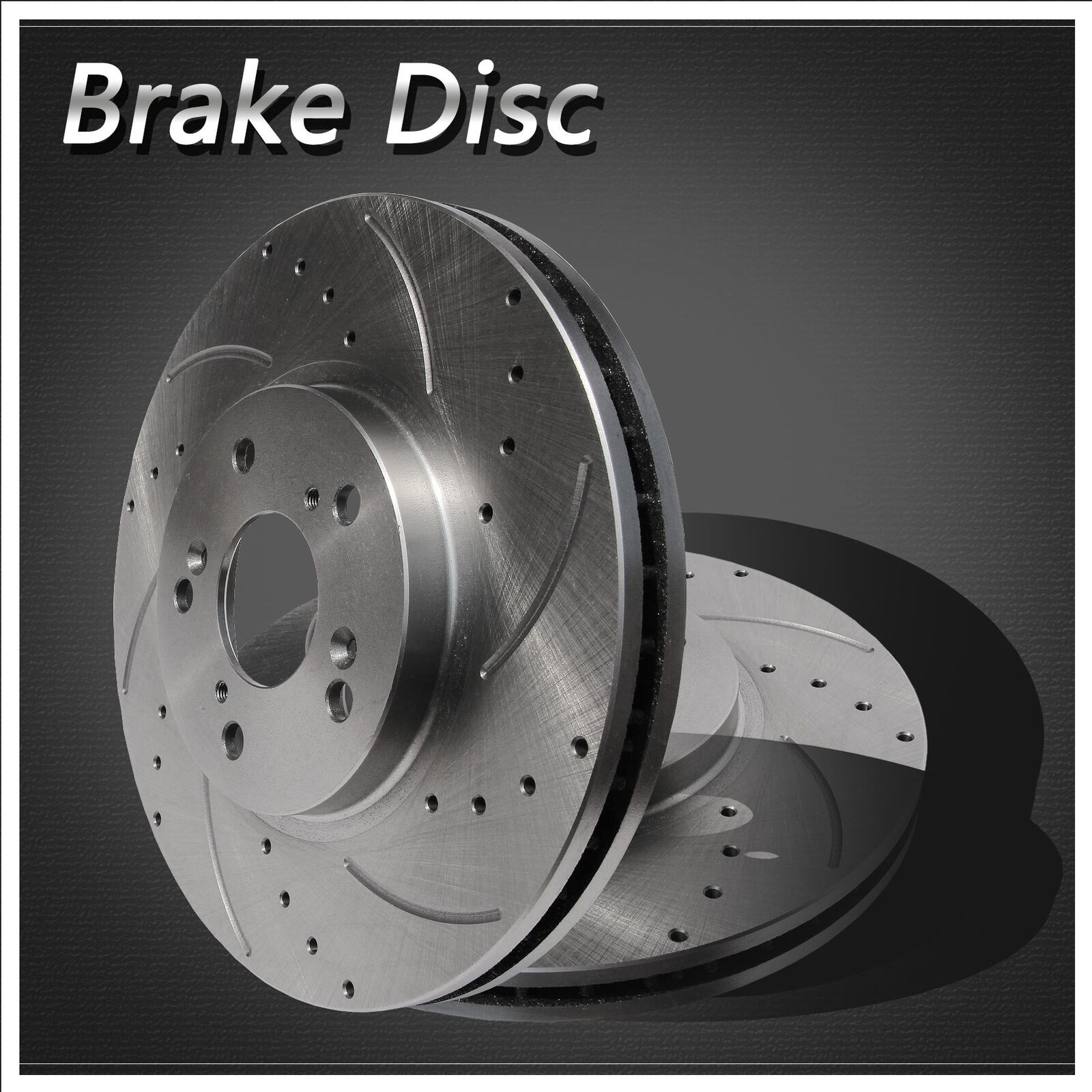 2Qty Brand New Disc Brake Rotors Front Left & Right Side
