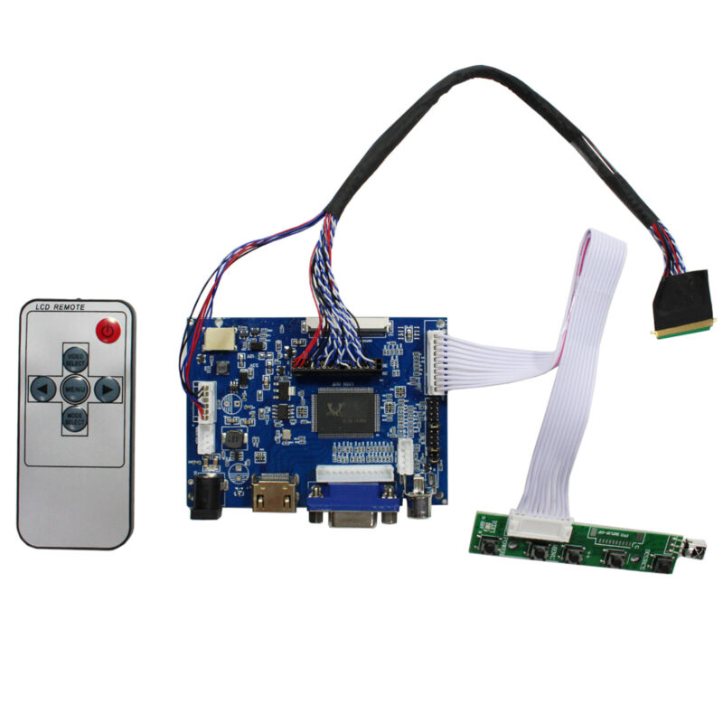 HDMI VGA AV LCD Controller Board For 17.3 in B173RW01  LTN173KT01 1600x900 LCD