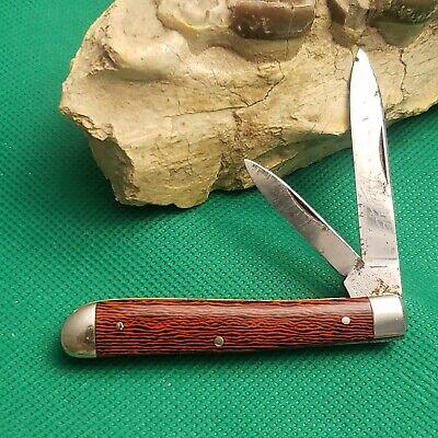 Old Vintage Shapleigh Hardware Bridge Salesman Sample Jack Pocket Knife Knives