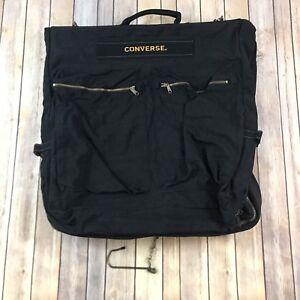 83deeb060fad5 Chuck Taylor Converse All Star Black Duffle Travel Athletic Bag Pocketed  Sharp!
