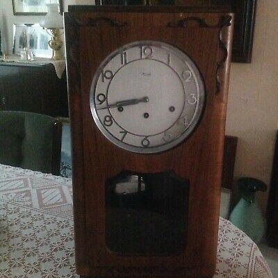 Wood Antique kienzle wall chime clock