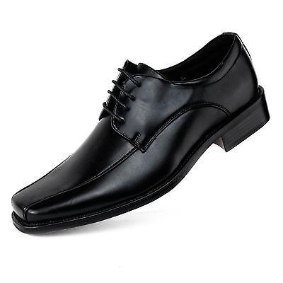 Herren Slipper Gr. 49 Übergröße Business-Schuhe Halbschuhe Schnürer neu D3