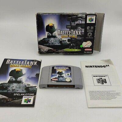 Battletanx Global Assault Nintendo 64 N64 Spiel Wie Neu Getestet OVP