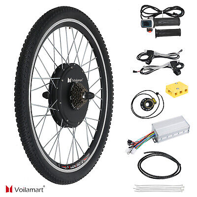 48V 1500W Bicicleta Eléctrica Motor Kit de Conversión Ciclismo Hub 26