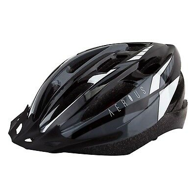 Aerius V19/Sport Bicycle Helmets/Md/Lg/Black/Grey/19/Head Lock for sale  Shipping to India