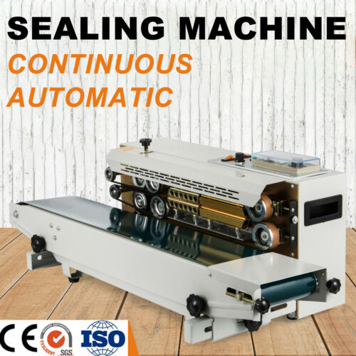Automatic Continuous Band Sealer Vertical and Horizontal Bag Sealing Machine