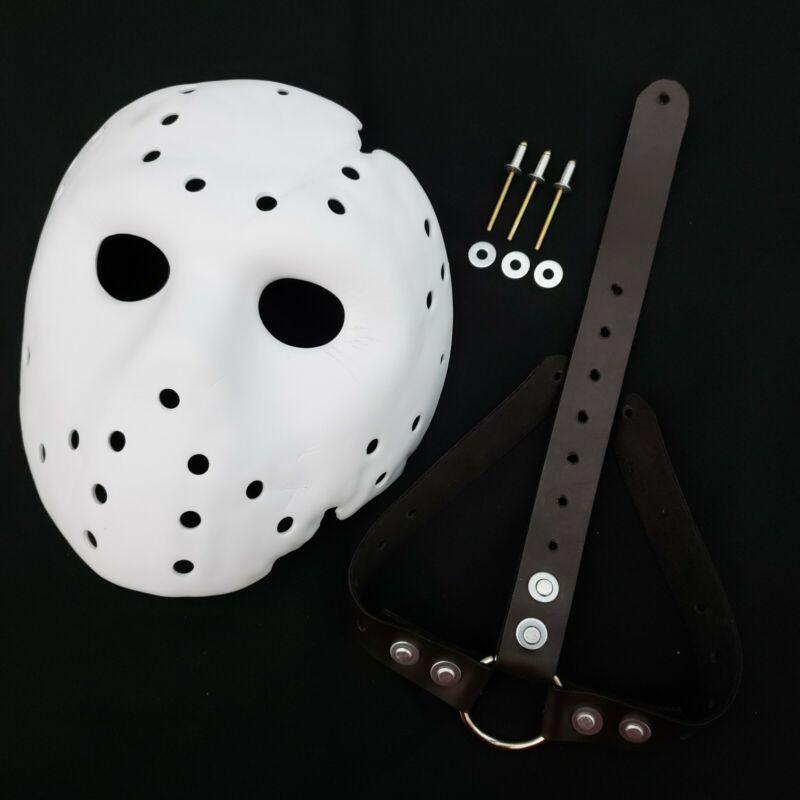Mask Jason X Blank Precut + Straps Friday the 13th Jason Voorhees