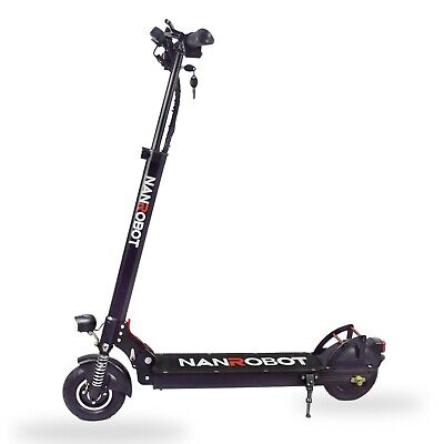 NANROBOT ELECTRIC SCOOTER X4 2.0 500W 48V Foldable 8 Inch FAST 25 MPH US SHIP