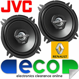 Renault Laguna 99-07 JVC 13cm 5.25 Inch 500 Watts 2 Way Rear Door Car Speakers