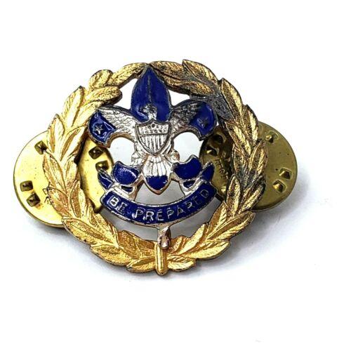 "Council Commissioners Collar Badge Blue Enamel 1"""